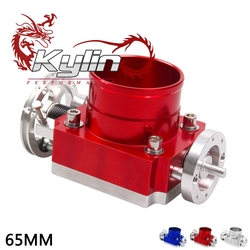 kylin racing 65,70,80,90mm universal Aluminum individual throttle body