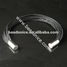 Beadsnice leather bangle body jewelry making supplies Guangdong cord bracelet customized ID 8011