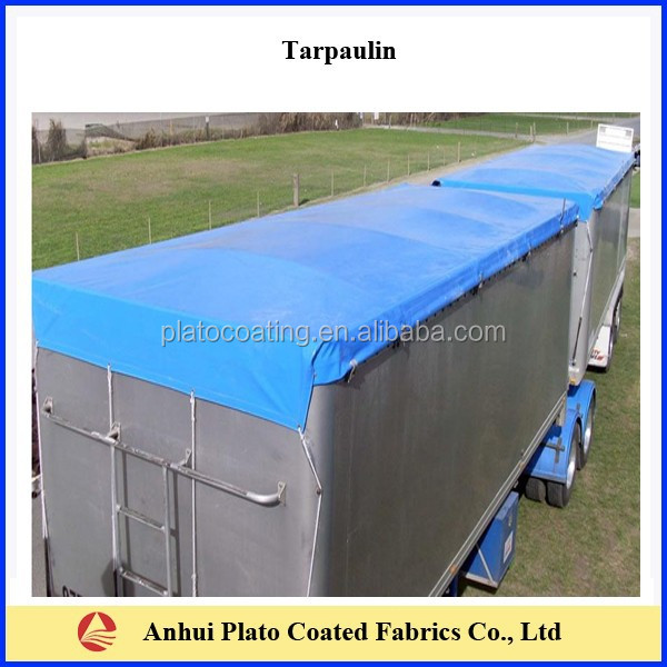 waterproof 100% polyester fabric pvc roofing cover tarpaulin