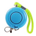 Waterproof 130DB Personal Alarm Panic Safety Alarm Keychain with Wrist Strap Self Defense for Students Kids