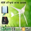 400w 12v mini wind power generator for home use