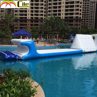 CILE Blue and White Fun Water Play Equipment