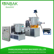 pvc powder coating mixer machine chemical material mixing unit with hot and cool pots