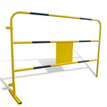 french style steel temporary barricade with good price