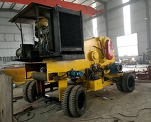 216 Model drum type wood chipper for power plant use