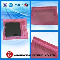 2015 Hot Sales Custom express photo paper packaging bags with zip lock china supplier