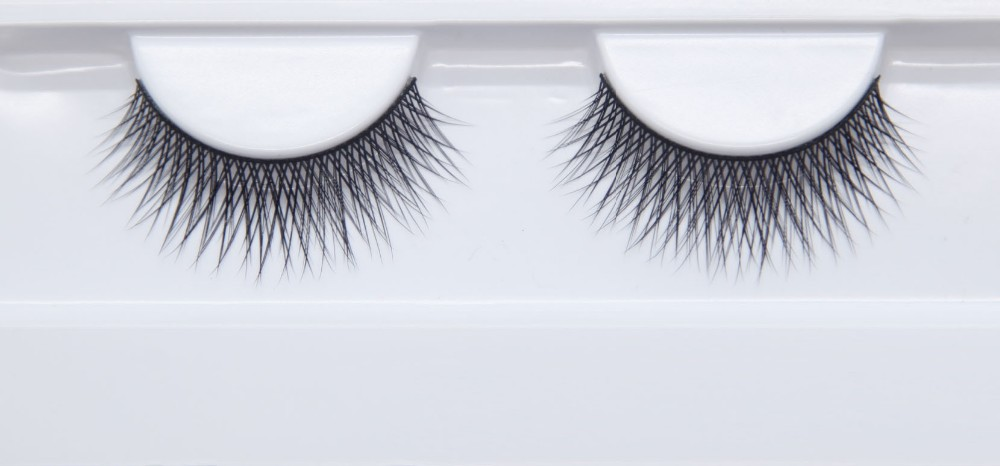 long lasting vegan 3D faux mink eyelashes silk lashes cruetly free OEM