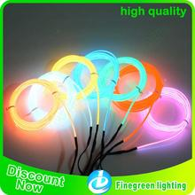 high brightness electroluminescent flat el wire