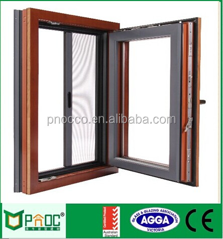Aluminum tilt and turn windows/aluminium triple glass double glazed windows and doors comply with Australian