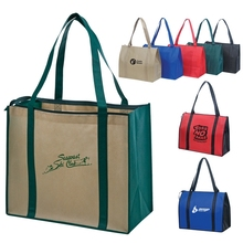 China Recyclable Custom Design Printed Laminated PP Non Woven Shopping Bag