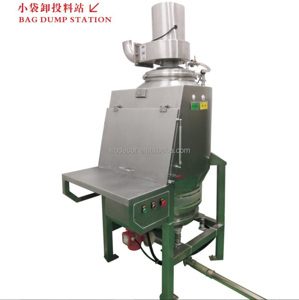 WOBS 800C Series Bag Dump Station Pharmaceutical Machinery