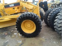 Used CAT 140G 605A 160H140K Motor Grader with ripper