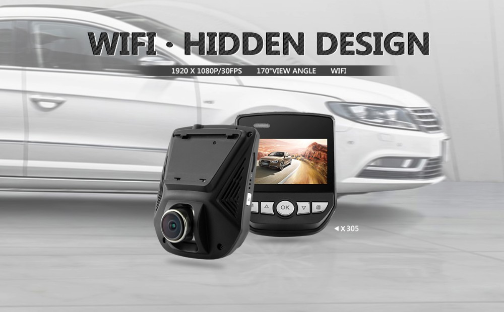 Novatek 96658 WIFI car dvr 1080P FULL HD car dvr wifi hidden car dvr