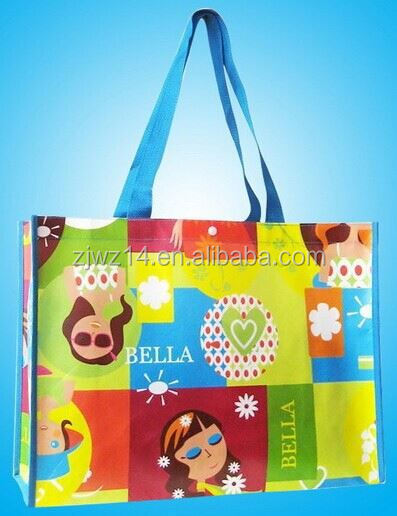cheap fashion reusable promotional bag/ bag for shop/ easy carry non woven shopping bag