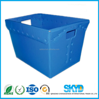 Electronics turnover box, package box, PP corrugated plastic sheet box
