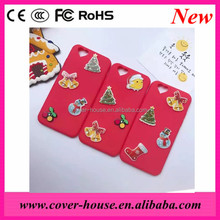 Handmade DIY mobile phone back cover Christmas gifts case for iPhone 7