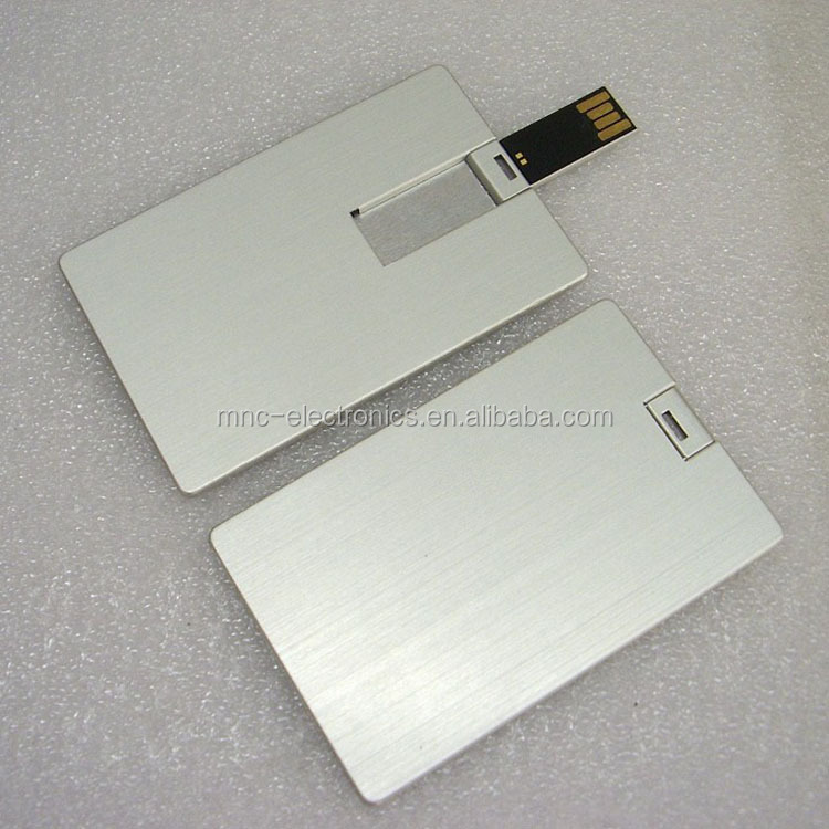 Bulk 1gb usb flash memory drive credit card size with custom logo print as promotion gift