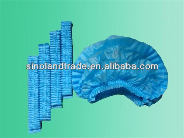 China made hospital disposable surgical caps disposable surgical nonwoven bouffant cap