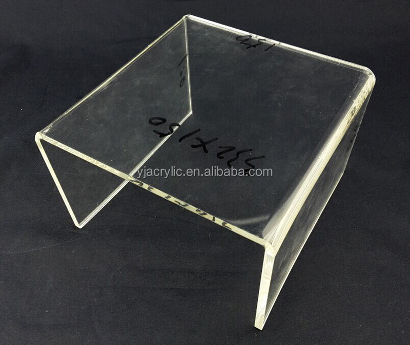 acrylic furniture lucite snack table for home/hotel