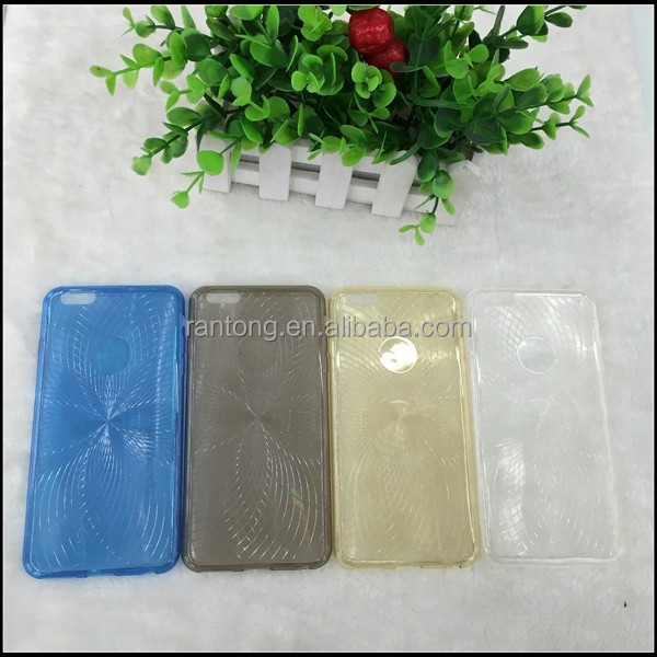 Ultra Thin Clear Crystal Ruber Soft Case For iPhone 6 Plus 5.5""