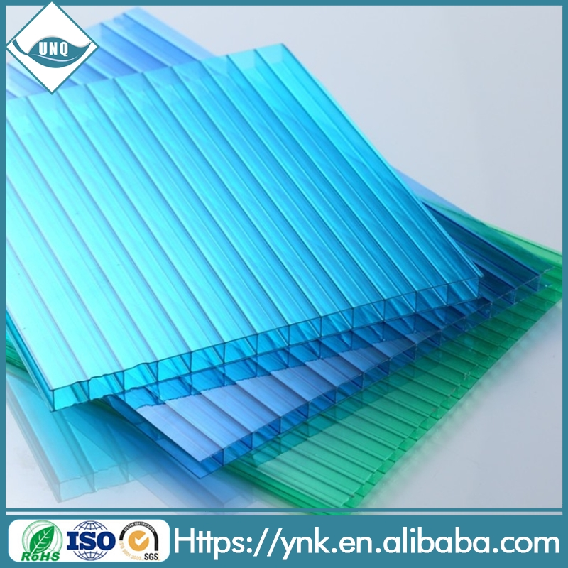 4mm to 20mm thickness polycarbonate hollow sheet for greenhouse