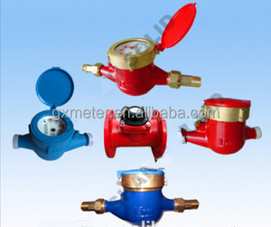 Best selling Multi-jet Vane Wheel Wet Type Water meter(DA15-60MM)