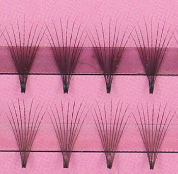 StarsColors 9D volume lashes KNOT FREE pre-made fan eyelash extension