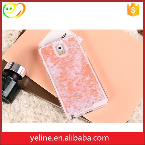 tpu soft case cover Glitter phone case for samsung note3
