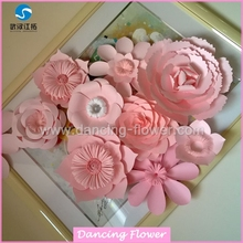 Importers Wholesale Artificial Hibiscus Paper Flowers (WFAM-57)
