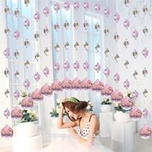 Chinese cheap Crystal beads curtain for window