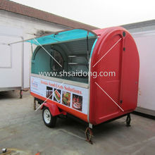 Hot Sale Mobile Juice Cart for sale/Mobile food house camper van