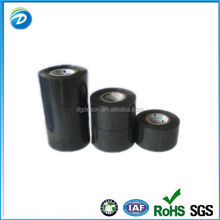Round Fire Proof Insulation Black Adhesive Tape