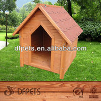 Fashion Design Dog Kennel With Curtain DFD3017
