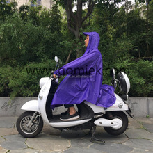 Bicycle durable OEM high quality adult raincoat waterproof pvc poncho with sleeves