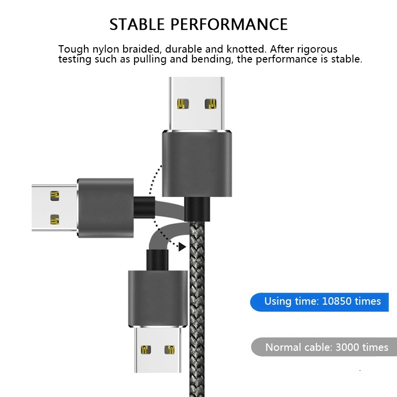 2019 New Trending Magnetic Cable 3 in 1 Magnetic Charging Cable Magnetic Usb Cable 3in 1