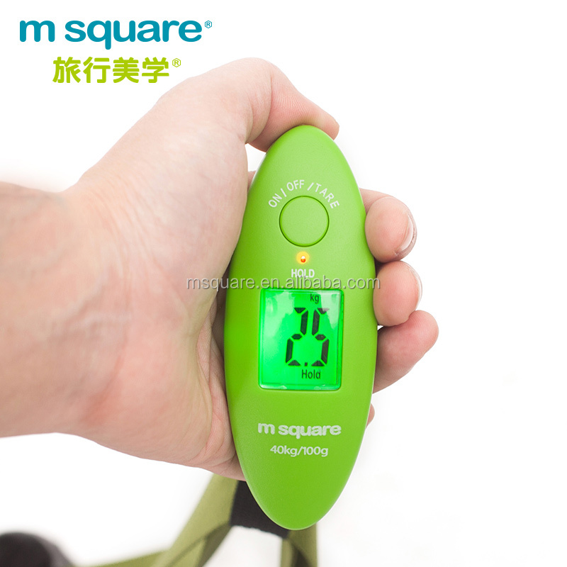 Wholesale msquare stocked travel portable digital pocket luggage suitcase <strong>scale</strong> with belt