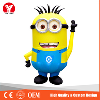 New inflatable minion despicable me, inflatable cartoon characters