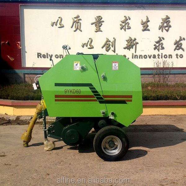Best quality high efficiencey pine straw baler for sale