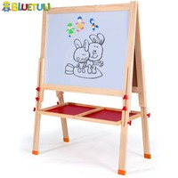 Kids mini antique easels with canvas for display