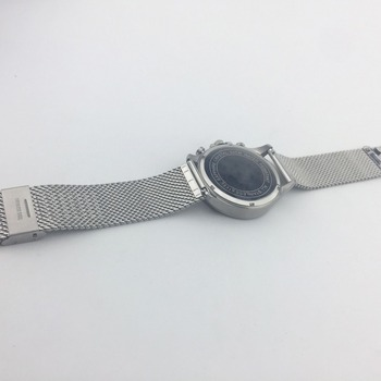 42mm All Stainless Steel Multifunctional Quartz Wrist Man Watch With OEM Service