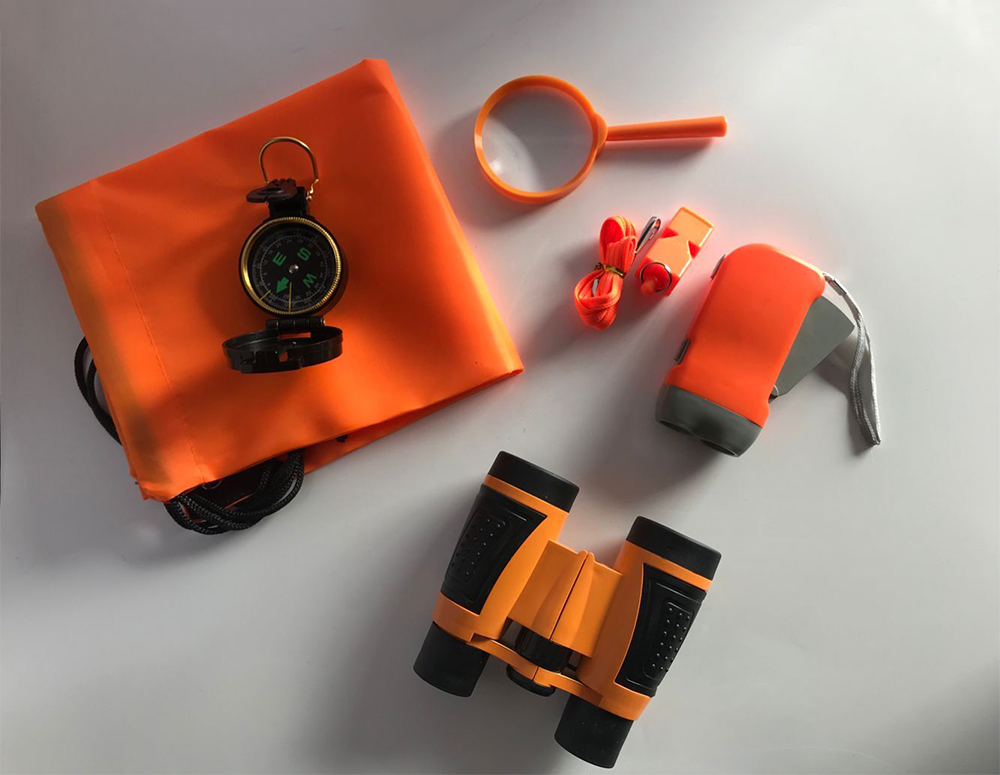 Cute Binocular Set - Outdoor Exploration Kit, binoculars for <strong>kids</strong>