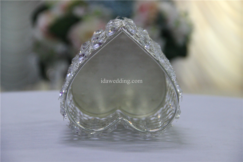 votive candle holder heart shaped