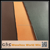 china emboss polish pu synthetic leather for shoes leather