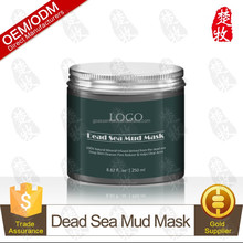 100% Natural Beauty Dead Sea Mud Mask for Facial Treatment 250g