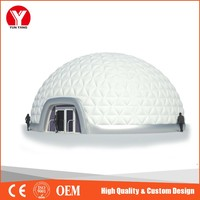 2016 hot sale customize inflatable air tent dome