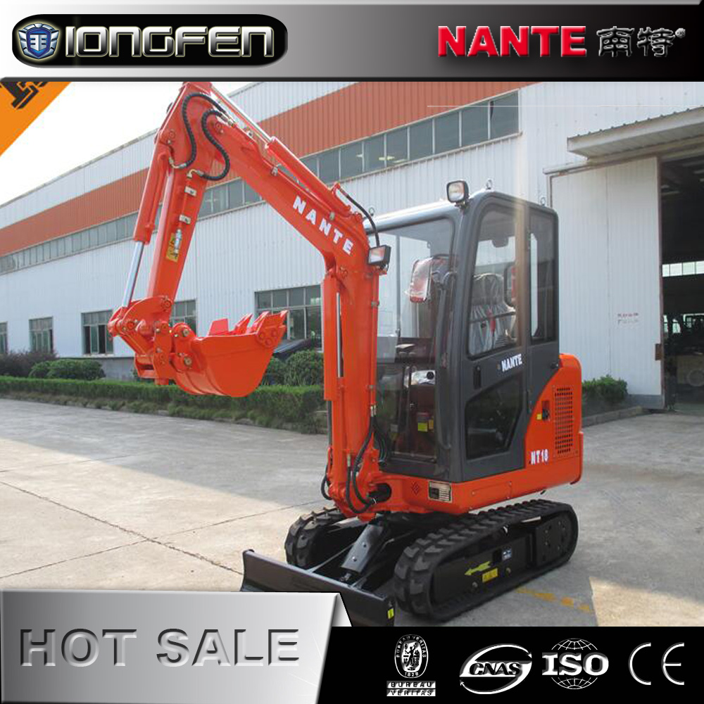NT18 china Lonking 1.8 ton excavator with Low price