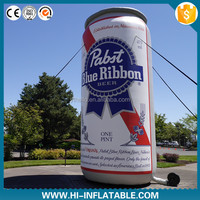 Hot-sale beer festival use advertising / display inflatable replica beer can
