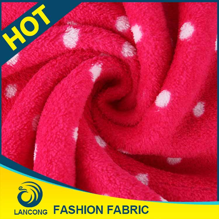 New Products for garment Knit fleece fabric printed christmas