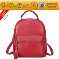 Manufacturer customize logo fashionable leather backpacks for girls