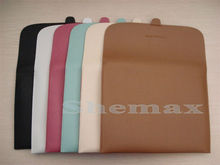Soft Lichi Leather Sleeve Bag Case for New iPad iPad2 iPad3